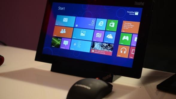 Lenovo: Noul ThinkPad va functiona cu Windows 8