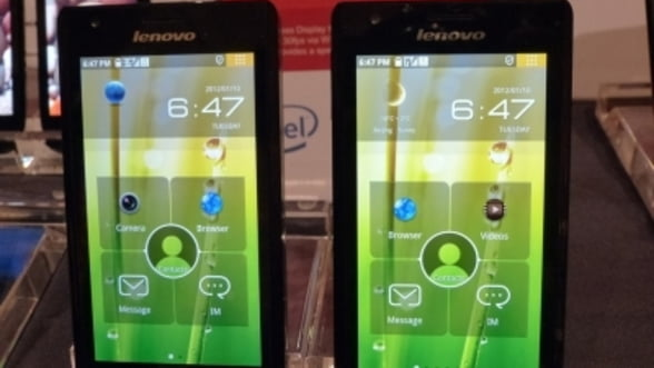 Lenovo si Intel au lansat smartphone-ul K800
