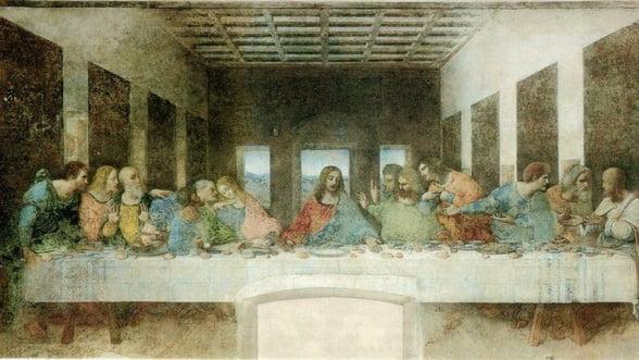 """Leonardo da Vinci: 560 de ani de la nasterea creatorului """"Cinei cea de taina"""""""