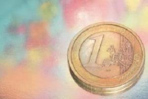 Leul a pierdut 2 bani pana aproape de 3,60 lei/euro