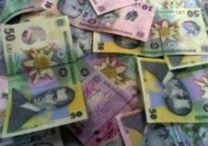 Leul atinge 3,5960 lei/euro, ca urmare a cresterii PIB cu 8,2%