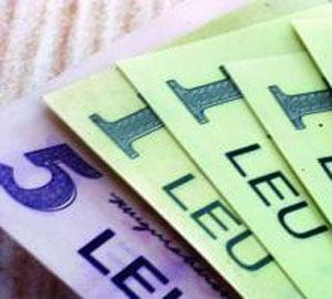 Leul se apropie de 3,80 lei/euro, urmand tendinta de apreciere a monedelor din regiune