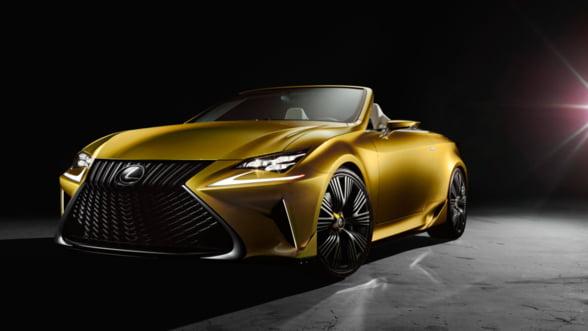 Lexus pregateste decapotabila verii 2016. Iti place?