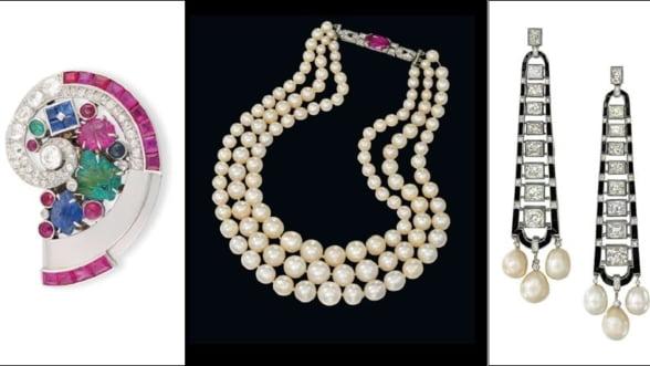 Liciteaza pentru bijuterii extravagante din anii '20, la Londra