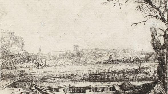 Liciteaza pentru gravuri de Rembrandt si alte hartii extrem de rare