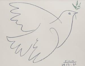 Liciteaza pentru opere semnate de Pablo Picasso