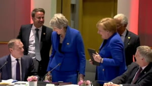 Liderii UE accepta amanarea Brexit pana pe 31 octombrie, dupa negocieri dure dominate de Macron