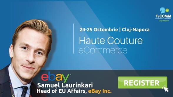 Liderul global eBay vine in premiera la TeCOMM Cluj!