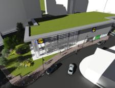 Lidl deschide in Bucuresti primul magazin cu doua niveluri si gazon pe acoperis