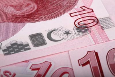 Lira turceasca este in picaj, dupa ce Erdogan a anuntat ca se va ocupa personal de politica monetara a tarii