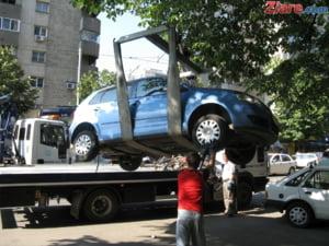 Lista celor 350 de strazi din Bucuresti de pe care vor fi ridicate masinile parcate ilegal incepand de astazi