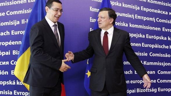 Lista lui Ponta pentru Barroso: Deblocati fondurile europene!