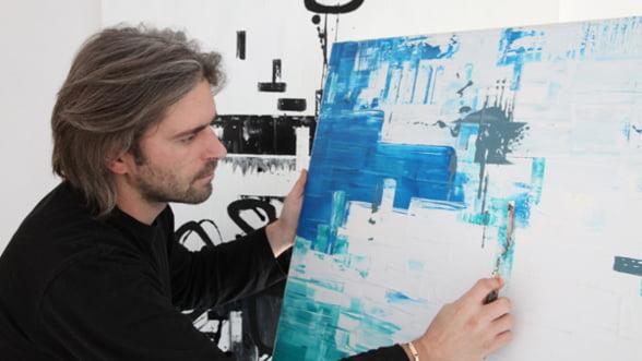 Live painting si concert Florin Chilian pe Valea Doftanei