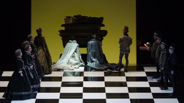 Ljubica Vranes si Dragoljub Bajic, invitati in spectacolul Don Carlo de pe scena Operei Nationale Bucuresti