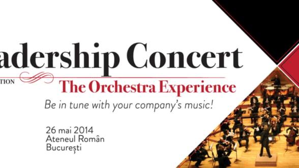 Lliderii de top din business sunt asteptati la Gala Leadership Concert