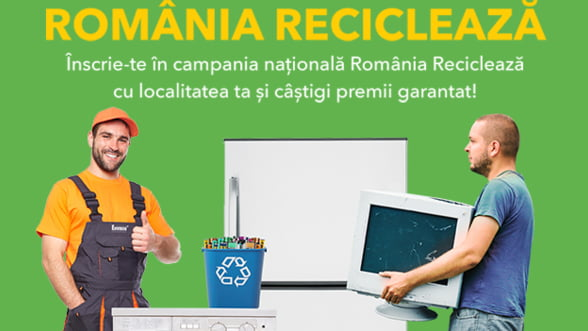 Locuitorii din Manesti au reciclat 1000 kg de echipamente electrice si baterii uzate