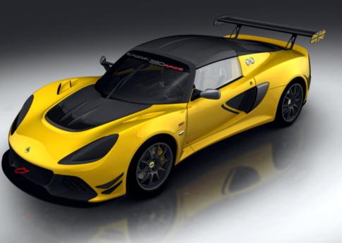Lotus te momeste sa-ti cumperi propria masina de curse. Iti place Exige Race 380?