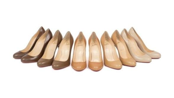 Louboutin reinventeaza culoarea Nude. Tie ce nuanta ti se potriveste?