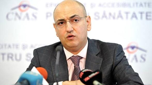Lucian Duta, fostul presedinte CNAS, denuntat de Guvern la DNA pentru nereguli la cardul de sanatate