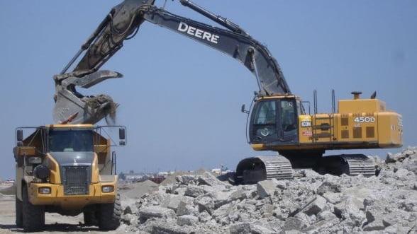 Lucrarile de constructii au scazut in primele cinci luni cu 7,2%