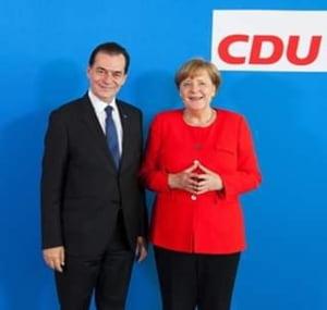 Ludovic Orban a discutat la telefon cu Angela Merkel: Situatia muncitorilor romani sezonieri, printre subiectele abordate