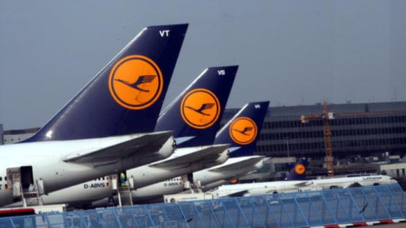 Lufthansa: Cati pasageri a avut in 2011