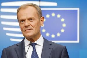 Lupta pentru functiile de forta din UE abia incepe. Donald Tusk are rolul ingrat de a negocia cu fiecare tara in parte