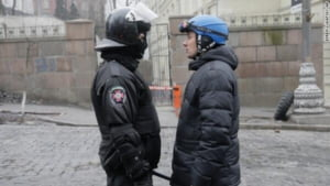 Lupte sangeroase in Ucraina: Impuscaturi in Piata Independentei