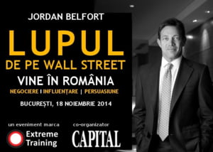 Lupul de pe Wall Street ajunge in noiembrie in Romania
