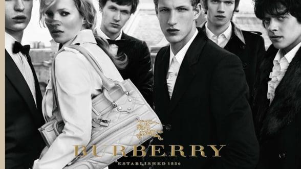 Lux: Burberry si-a crescut veniturile cu 20% in T3 din 2011
