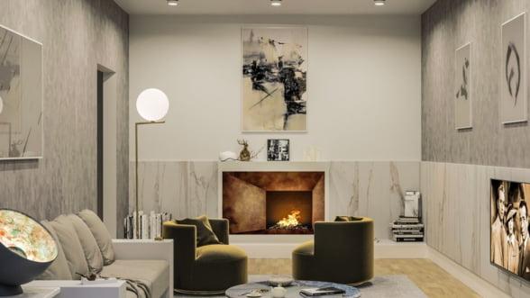 Luxuria Domenii Residence, un complex de lux cu 9 blocuri si 9.000 mp de spatii verzi, se construieste in zona Domenii-Expozitiei-Casa Presei