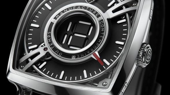 MCT Dodekal One D110, un ceas cu design futurist greu de uitat. Alege combinatia preferata de culori