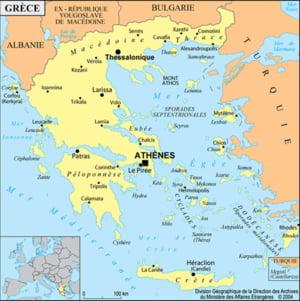 Macedonia a inceput sa construiasca un gard metalic la frontiera cu Grecia