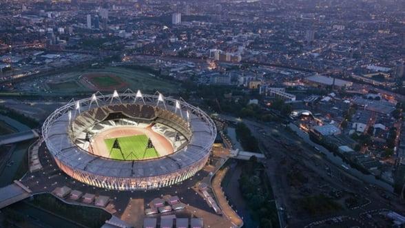 Macheta Parcului Olimpic din Londra, expusa la Bucuresti