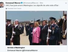 Macron ii aduce lui Trump un stejar, pe care sa il planteze impreuna