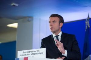 Macron someaza tarile est-europene sa respecte normele statului de drept