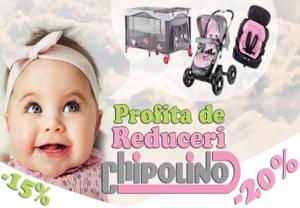 Magazinul Bebelas.ro anunta reduceri la sute de produse pentru fiecare familie fericita