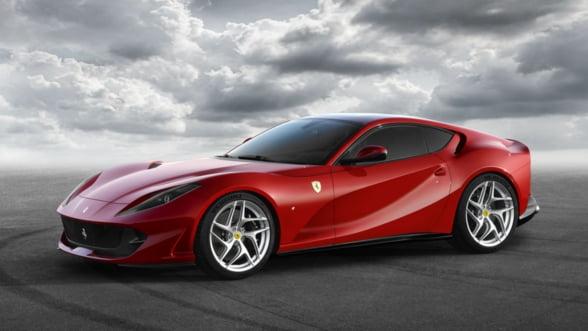 Magia vitezelor extreme te va cuceri pe deplin: Ferrari 812 Superfast