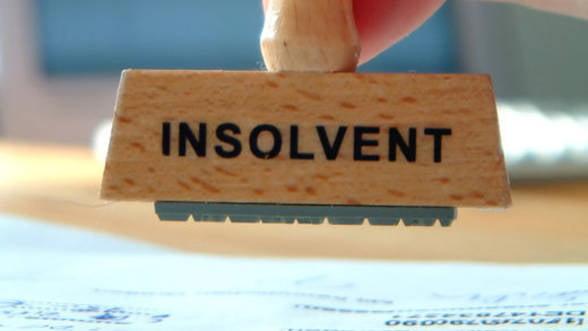 Mai multe companii in insolventa in 2013. Care sunt domeniile cele mai afectate