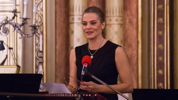 Maia Morgenstern vorbeste despre leadership feminin