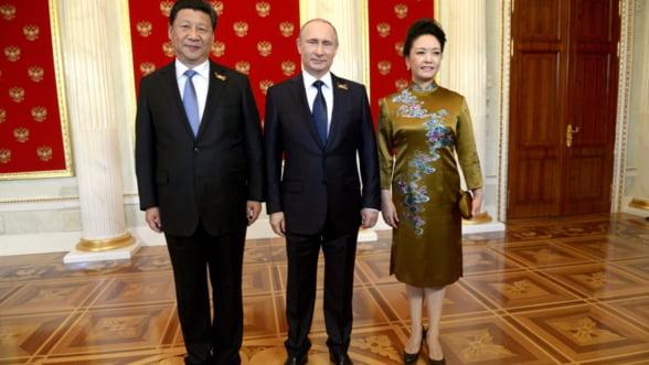 Mana intinsa Rusiei de China, doar un miraj?