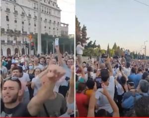 Manifestaţii de amploare în Grecia împotriva măsurilor anti-COVID VIDEO