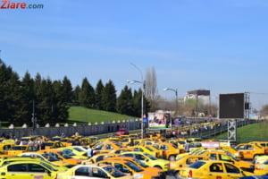 Manifestatie anti-Uber, cu 6.000 de masini, la Guvern