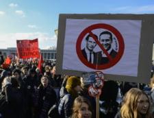 Manifestatie cu zeci de mii de oameni la Viena contra guvernului format cu extrema dreapta: Fascistii s-au intors, dupa 80 de ani!