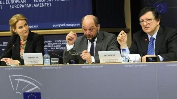 Manuel Barroso si Martin Schulz vin la Bucuresti pentru a discuta despre fondurile UE