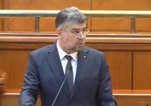 """Marcel Ciolacu: Proiectul de buget propus de Guvern e """"o tampenie"""". Daca nu ii sunt acceptate amendamentele, PSD depune motiune de cenzura"""