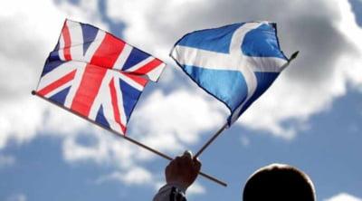 Marea Britanie devine tot mai mica: Scotia vrea sa-si declare independenta, daca pierde accesul la piata unica