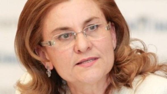 Maria Grapini: Vom finaliza doar investitiile realizate in proportie de 80%