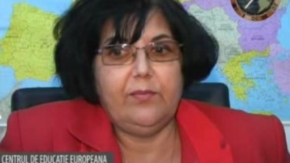 Maria Zidaru, presedinte Centrul de educatie europeana