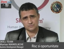Marian Manolache, business development manager Skill Team